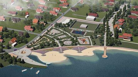Воронежцам представили проект новой набережной в Отрожке