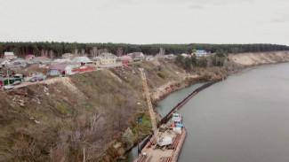 Берег Дона в Воронежской области снова укрепят за 64,5 млн рублей