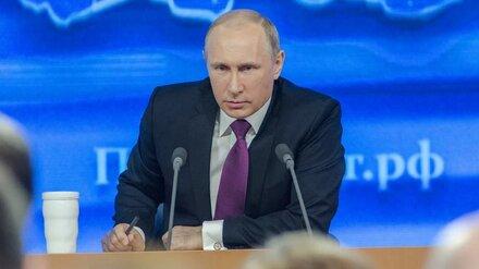 Путин вновь обратился к россиянам из-за коронавируса