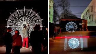 Современный художник создал в центре Воронежа обречённый на уничтожение арт-объект
