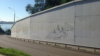 Граффити с изображением Петра I появится в Воронеже к концу августа