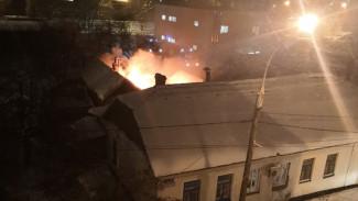 В Воронеже пожар в частном доме унёс жизнь мужчины