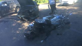 ВИДЕО: В Воронеже в ДТП погиб мотоциклист