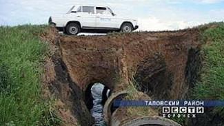Жители Таловского района борются с бездорожьем