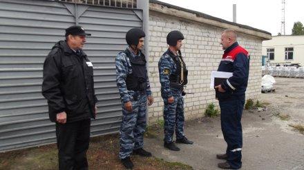 Воронежские энергетики помогли предотвратить «взрыв» и потушить «пожар»