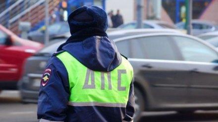 Воронежские росгвардейцы заблокировали проезд пьяному водителю