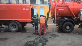 Специалисты нового предприятия по содержанию воронежской ливнёвки приступили к работе