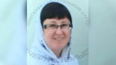 Под Воронежем пропала страдающая психическим расстройством женщина