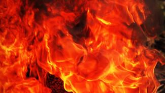 В Воронежской области при пожаре в жилом доме погиб мужчина