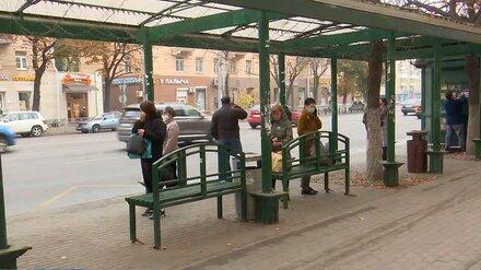 В Воронеже убрали популярную остановку «Кольцовская»