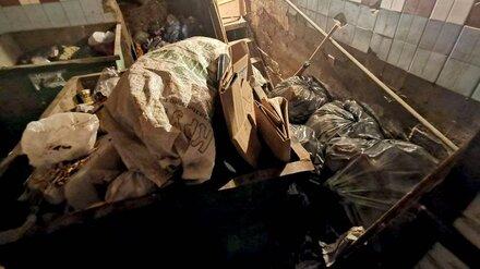 Многоэтажка в центре Воронежа «утонула» в мусоре из-за уволившегося сотрудника УК