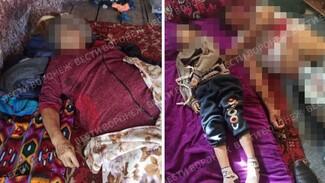 Появились фото с места тройного убийства семьи в Воронежской области