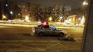 В Воронеже установили личность пешехода, которого у остановки переехала маршрутка