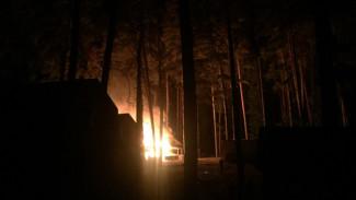 Очевидцы: на турбазе под Воронежем произошёл пожар