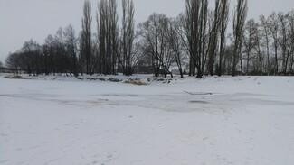 Под Воронежем двое подростков провалились под лёд