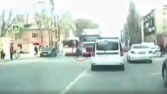 Появилось видео момента ДТП с насмерть сбитой 82-летней женщиной в Воронеже