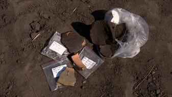При строительстве детского бассейна под Воронежем нашли уникальные осколки
