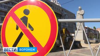 В Воронеже заморозили  установку памятника Кольцову