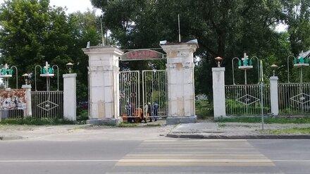 На левом берегу Воронежа благоустроят разрушенный парк