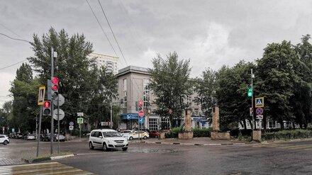 На опасном перекрёстке в центре Воронежа спустя 4 месяца после установки заработал светофор