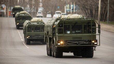 Ракетные комплексы «Искандер» покажут на параде Победы в Воронеже