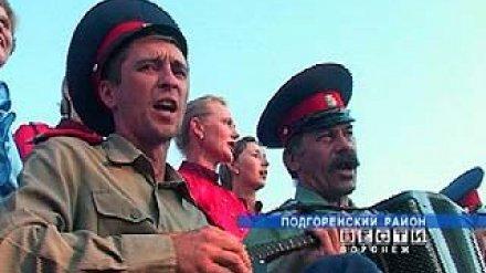 Впервые казачий фестиваль посетил губернатор Воронежской области