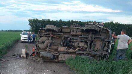 В ДТП под Воронежем разбился водитель «буханки»