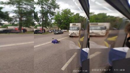 Полиция установила личность задавленного грузовиком воронежца