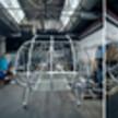 Воронежский стартап показал собранный каркас первого летающего автомобиля