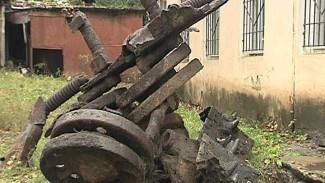 В Воронеже найденный под фундаментом дома танк подтвердил городскую легенду
