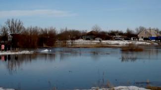 Ещё в одном населённом пункте Воронежской области из-за паводка ввели режим ЧС