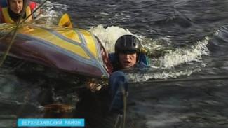 Воронежские туристы нарочно падали в ледяную воду, чтобы самих же себя и спасать