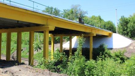 В Воронежской области отремонтировали девять автомобильных мостов