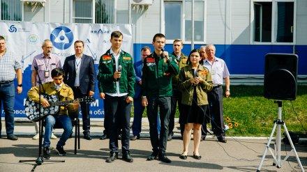 В Нововоронеже завершилась студенческая стройка «Мирный атом»