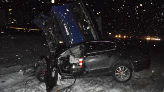 На трассе под Воронежем смертельная автокатастрофа унесла жизнь двух водителей