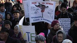 Парк раздора: воронежцы снова собираются на митинг против застройки «Танаиса»