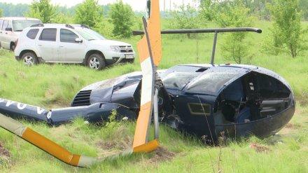 Пилота оштрафовали за жёсткую посадку вертолёта под Воронежем