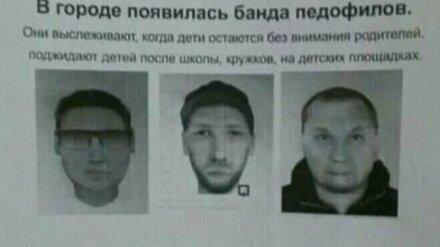 Воронежское МВД опровергло информацию о гулявшей на свободе банде педофилов