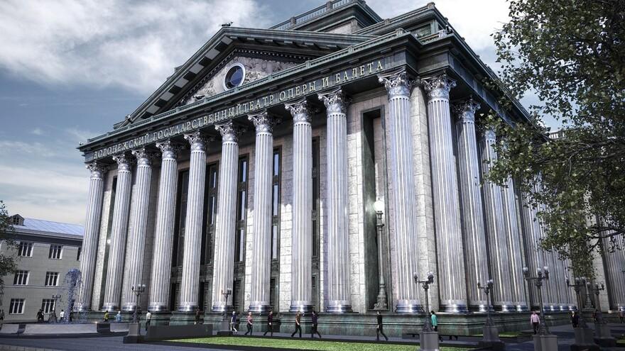 «Пощёчина старому городу». Эксперты оценили новый облик воронежского оперного театра
