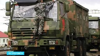 Первые участники международного этапа Армейских игр прибыли в Острогожск