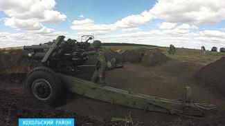 ВИДЕО: Под Воронежем два соединения Западного военного округа провели «громкие» полевые сборы