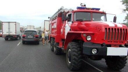 В Воронежской области в ДТП с большегрузом и иномаркой погибли два человека