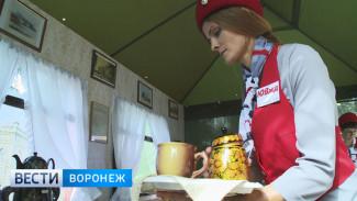 Воронежцы отметили День города в вагоне-ресторане 19-го века