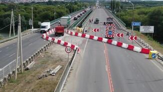Воронежских водителей предупредили о частичном перекрытии моста на Курской трассе