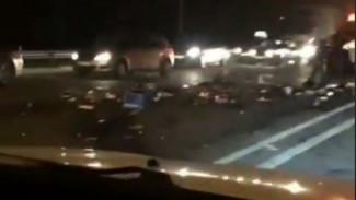 В Воронеже 5 человек попали в больницу после ДТП с шестью авто