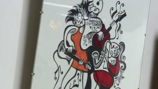 Воронежский художник изобразил джаз с помощью линолеума