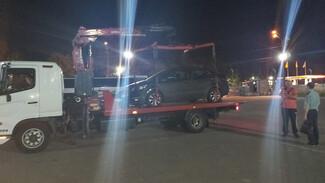 В Воронеже злостный неплательщик штрафов лишился автомобиля из-за неправильной парковки
