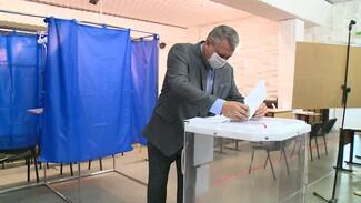 На выборах в Воронежской области проголосовали 14,34% избирателей