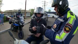 ГИБДД за два дня поймала около 50 мотоциклистов-нарушителей на дорогах Воронежа