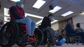Разъезжающие по России инвалиды поделились с воронежцами мотивационными историями